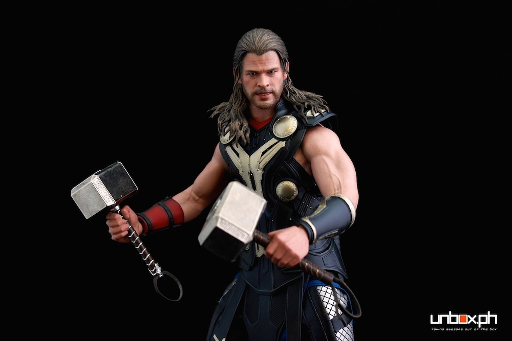 One more shot of that double hammer Thor.