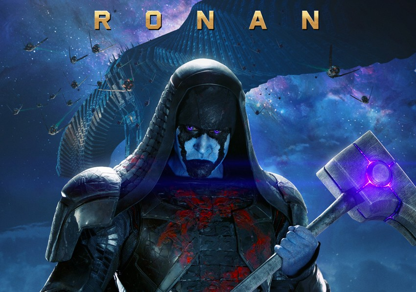Lee Pace plays Ronan the Accuser