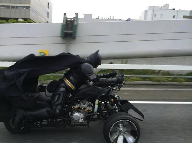 Chibatman drives with one mission... To put smiles in everybody's faces.