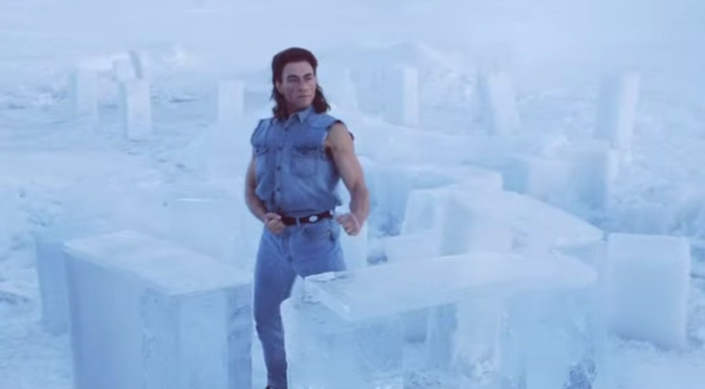 JCVD takes the fight to the ice... And Win
