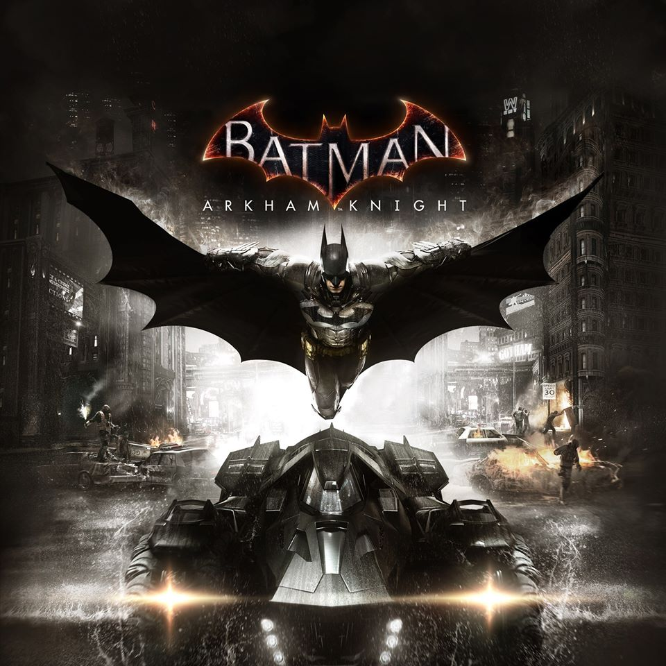 Cover Art to Batman: Arkham Knight.