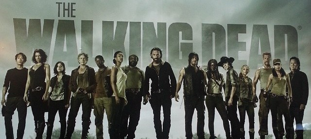 The principle returning cast of The Walking Dead for Season 5. Photo by AMC.