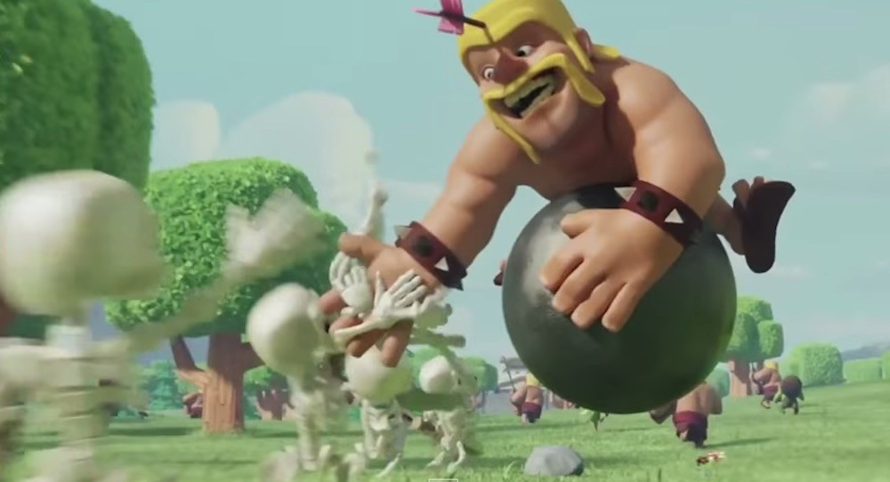 Clash of Clans release new TVCs