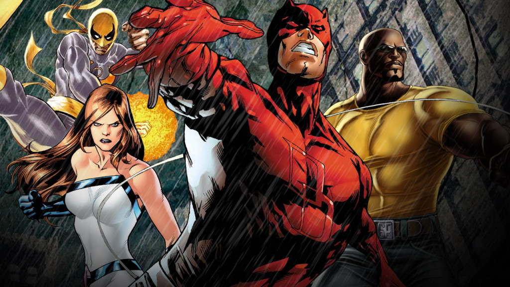 Daredevil builds up to this in a couple of year's time! More superhero goodness!
