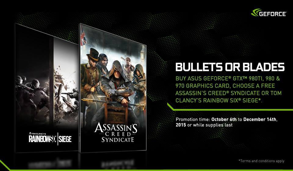 Asus Bullets or Blades Promo