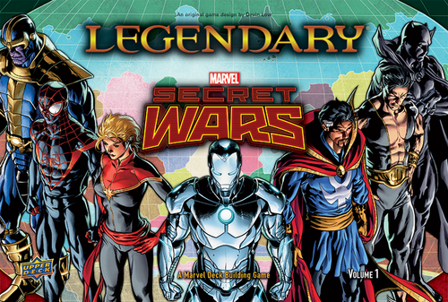 Legendary Marvel Secret Wars: Volume 1