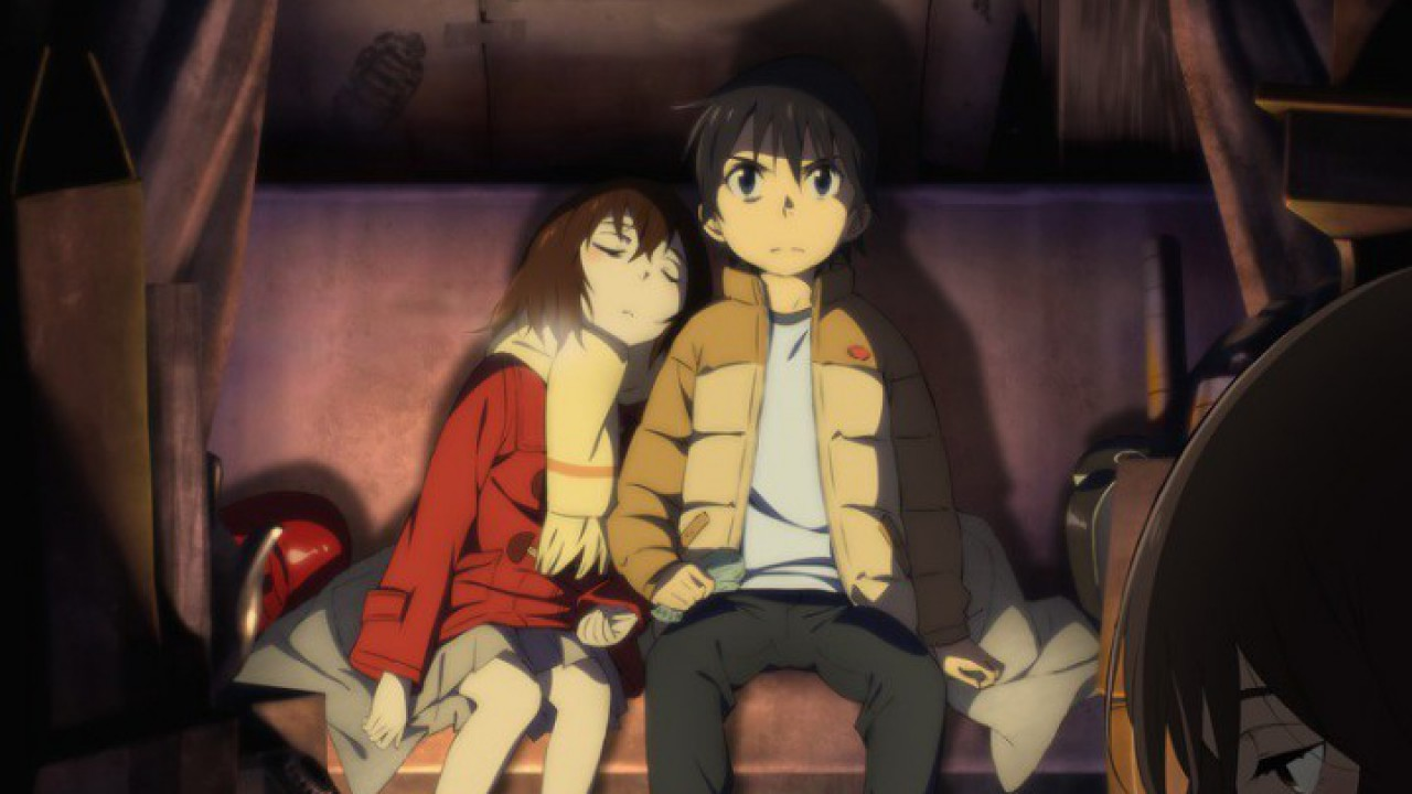 Erased an anime psychological thriller about correcting past wrongs
