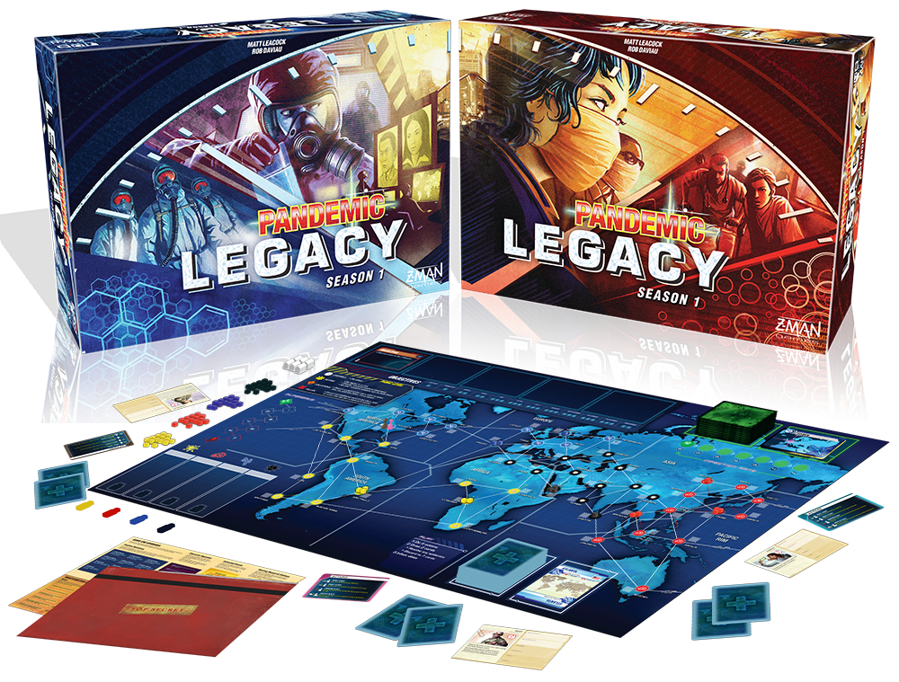 Up for grabs tomorrow at Pandemic Survival Round 2!