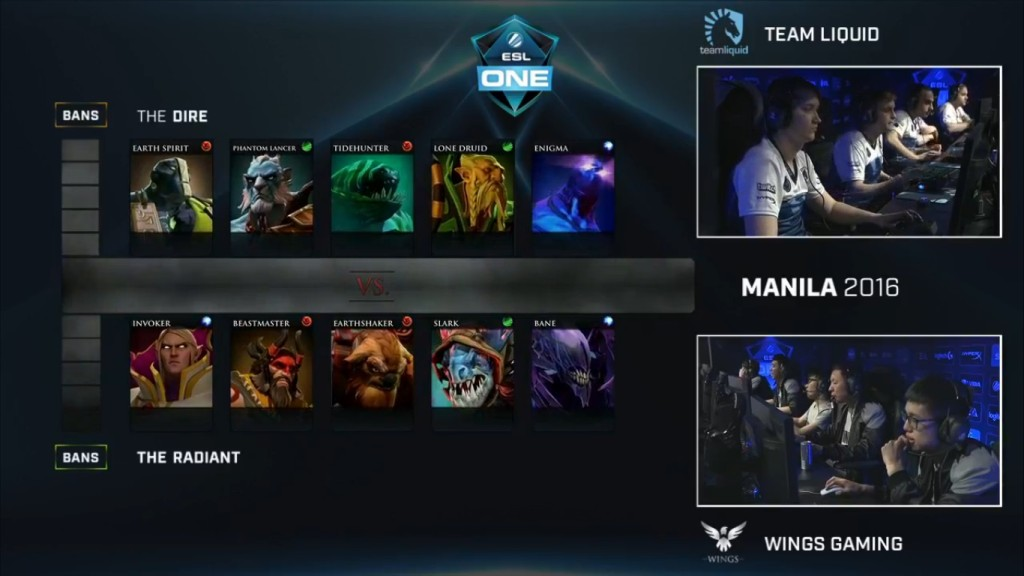 Wings vs Liquid Game 2