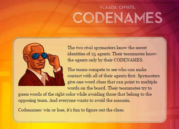 Codenames Description