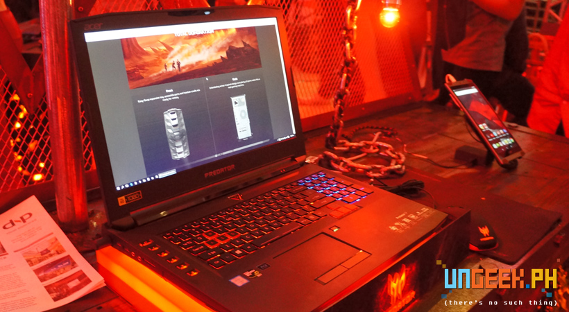 Predator 15 Gaming on the Go!