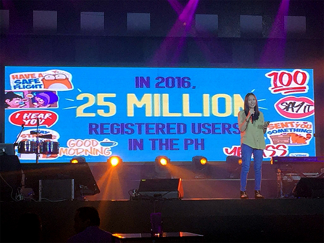 Viber 2016 - 25Million Registered Users