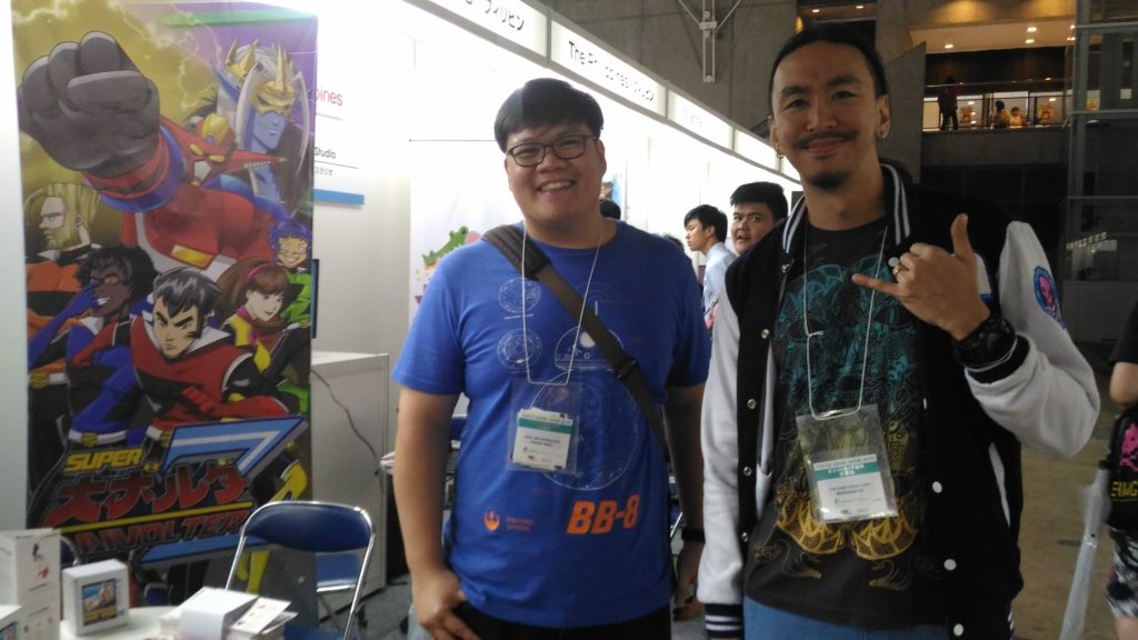 James Chua from Monstronauts (Pictured left) and Carlo Canlas from Popsicle Games (Right)