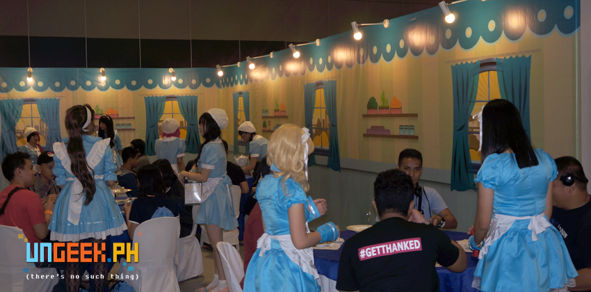 Inside the Maid Cafe @ ACPH 16