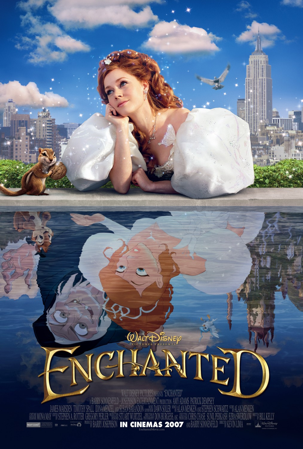 Enchanted movie dance