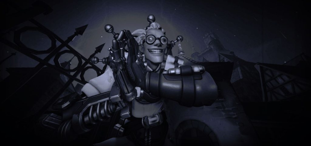 Dr. Junkenstein plotting his Revenge