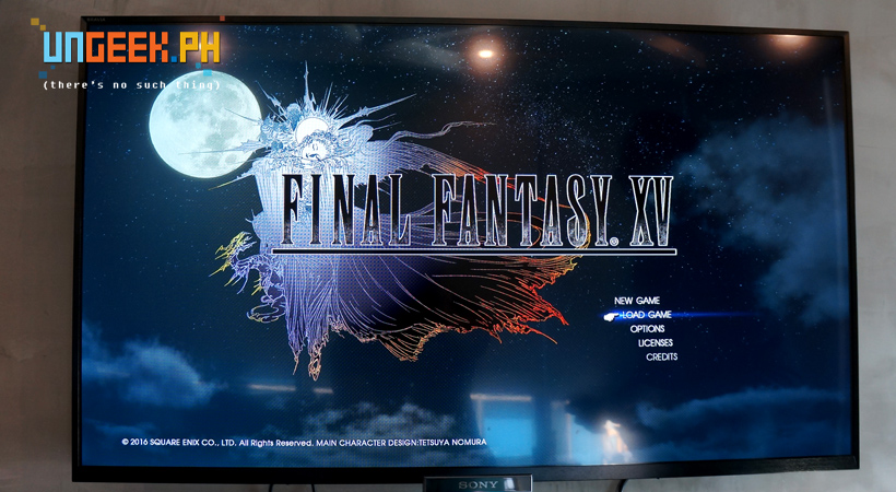This is the real deal folks, Final Fantasy XV in the flesh!