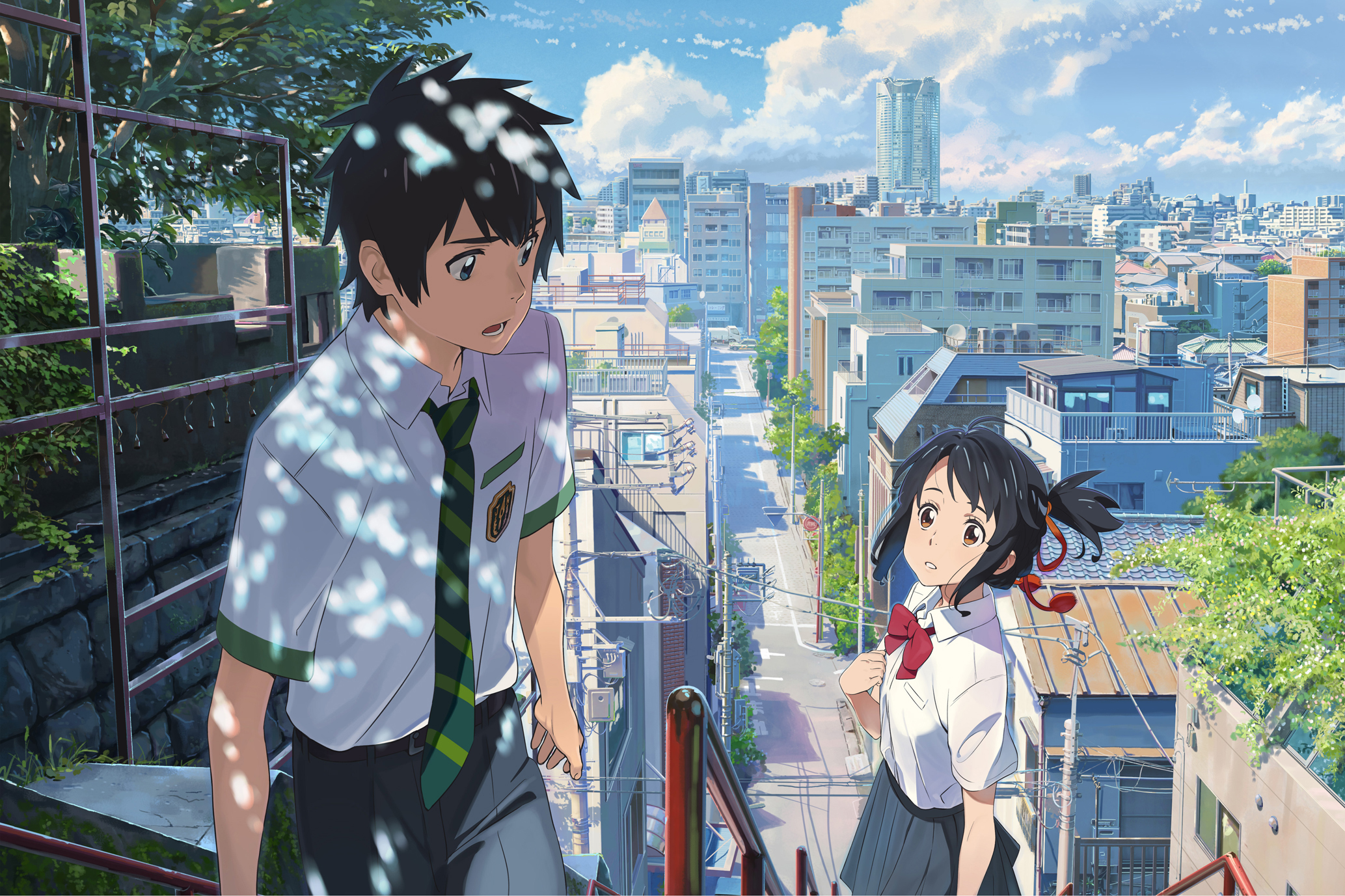 Rumor japanese anime hit kimi no na wa your name will be showing this philippine theaters in december