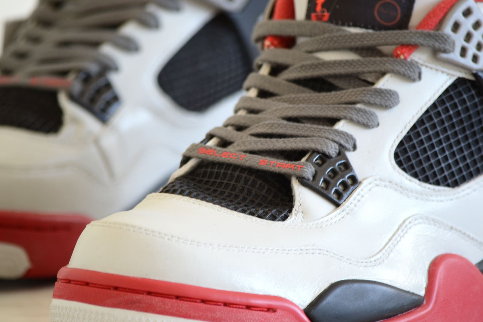28e1a0fe544 netherlands true to the name the base shoe model was the jordan 4 which was  customized