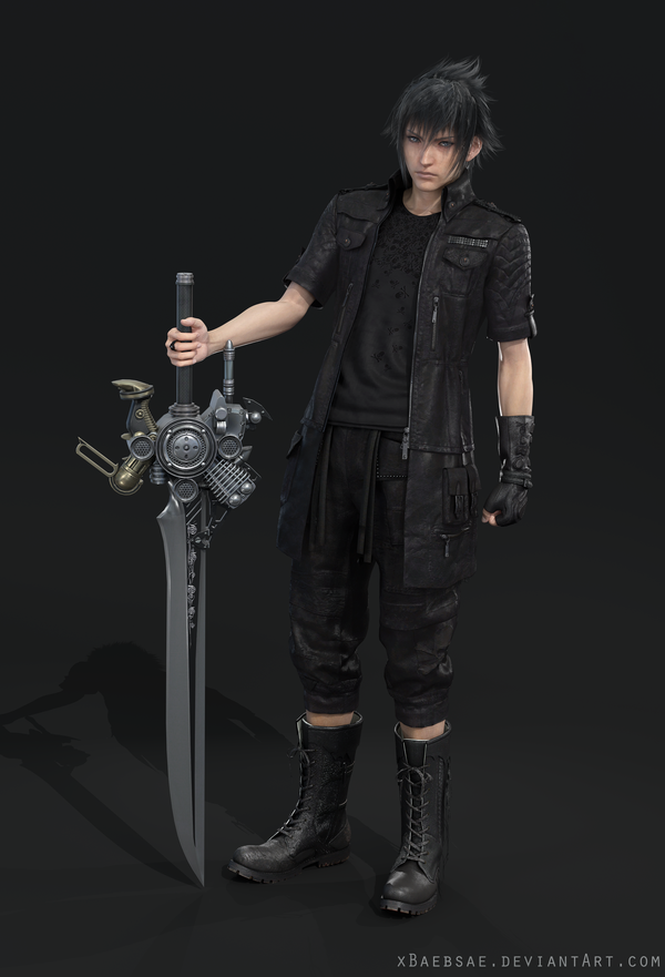 What Is The Cloth Around Prompto S Arm