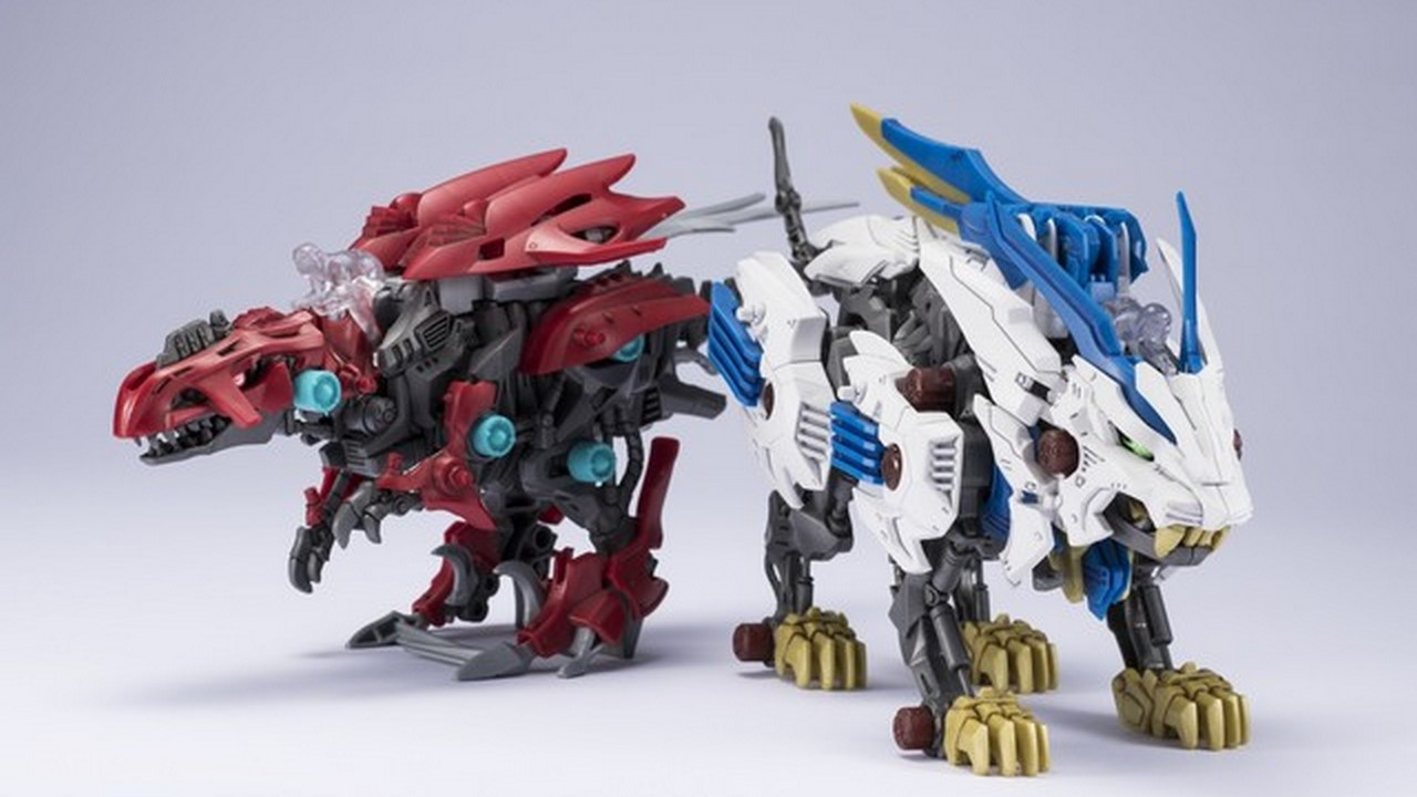 The Wild Toys : These new zoids wild figures will make you want to buy em