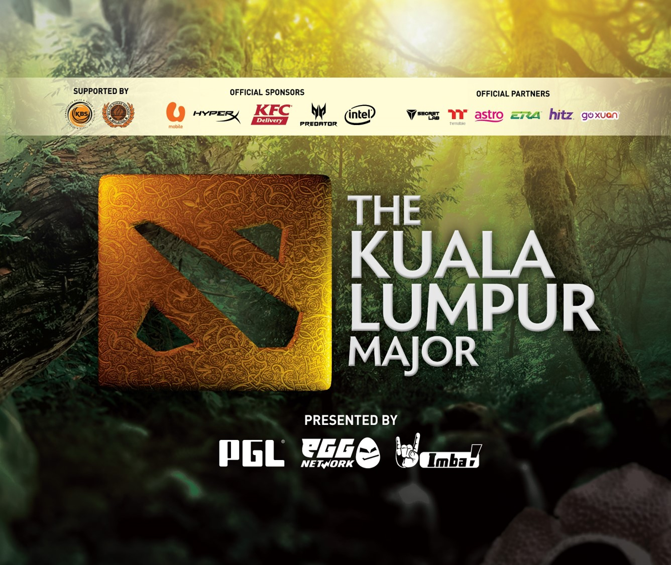 Catch exciting Dota action at the Kuala Lumpur Major this November!   Ungeek