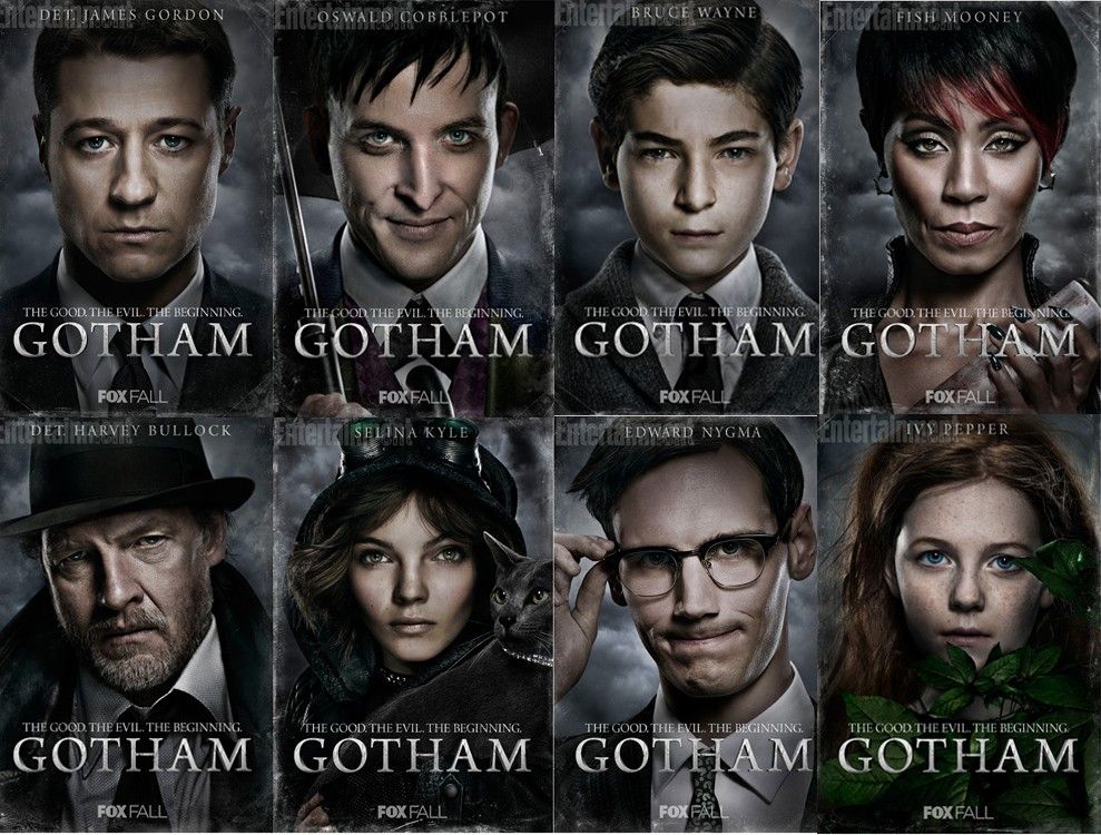 Penguin, Catwoman, Riddler, Ivy. Who else do you want to see?
