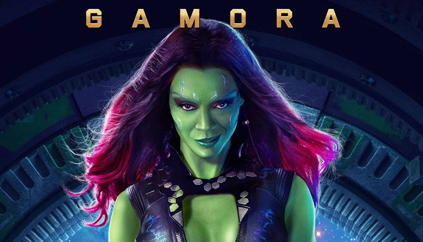 """Gamora. Also known as """"The deadliest woman in the galaxy."""""""