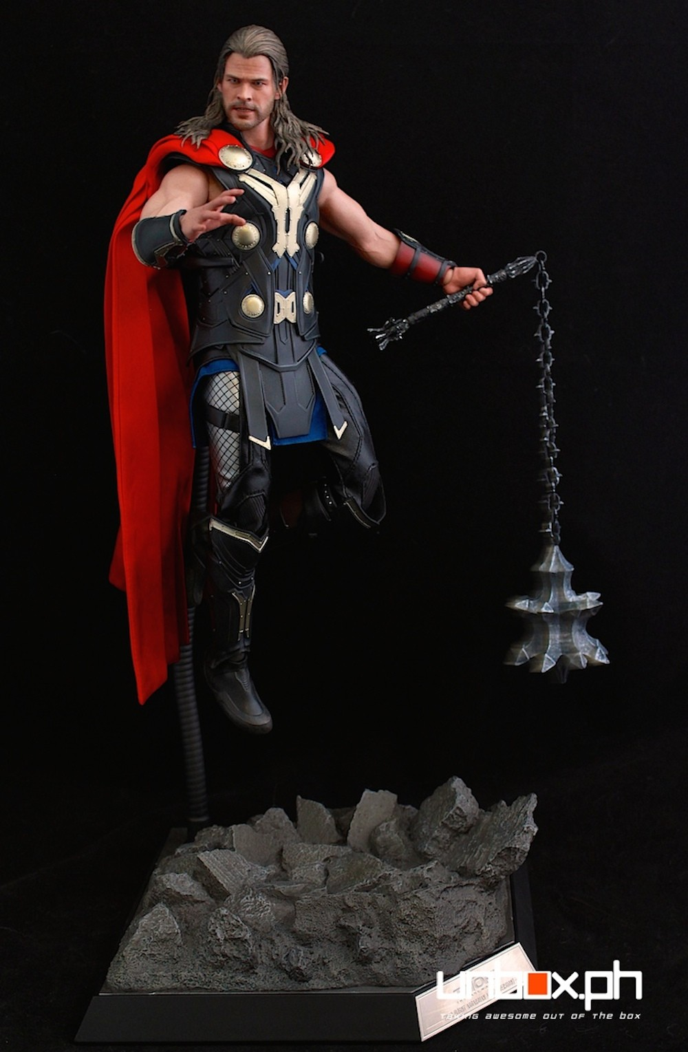 Thor lost his hammer so I guess this will have to do... lol!