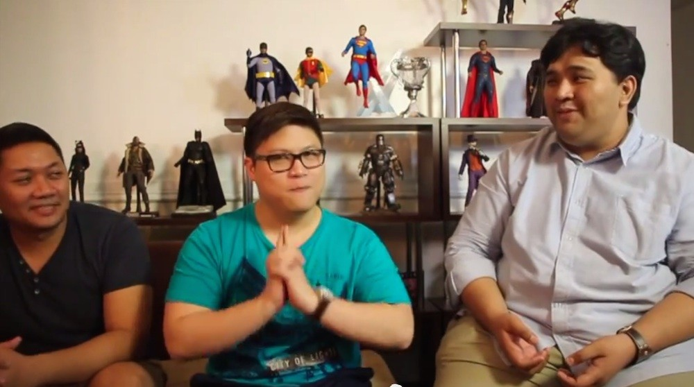 Your UnGeek PH Podcast Hosts: Jamie, Colin, and Carlo!