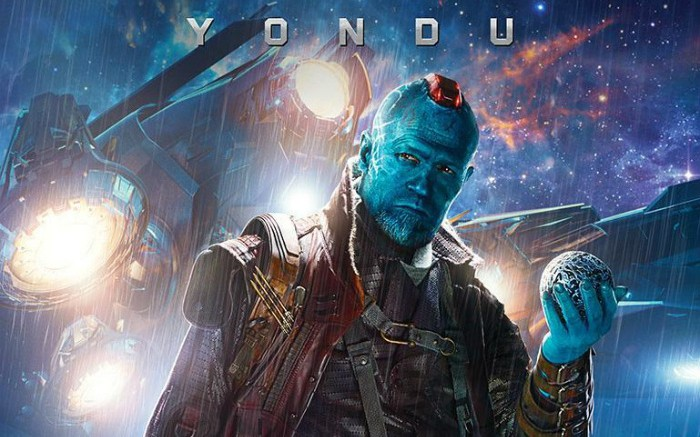 Michael Rooker plays Yondu, space smuggler and father figure to Chris Pratt's Star-Lord.