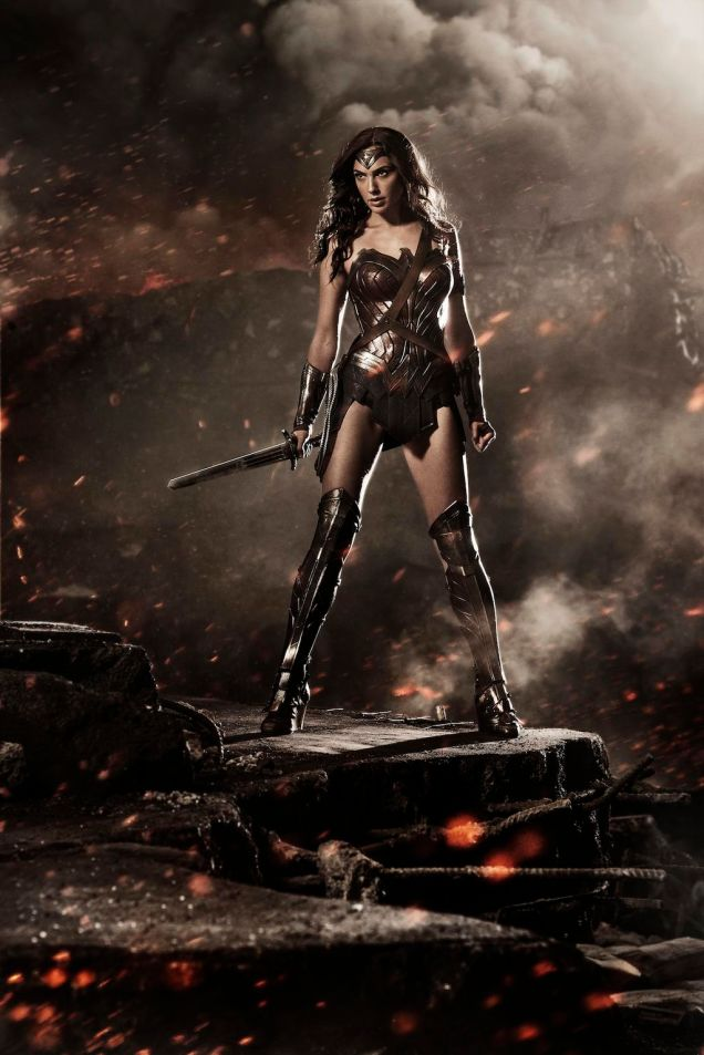First look at Gal Gadot as Wonder Woman. i <3 HER!!!
