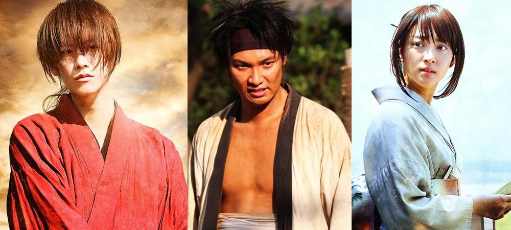 Kenshin, Sano and Kaoru