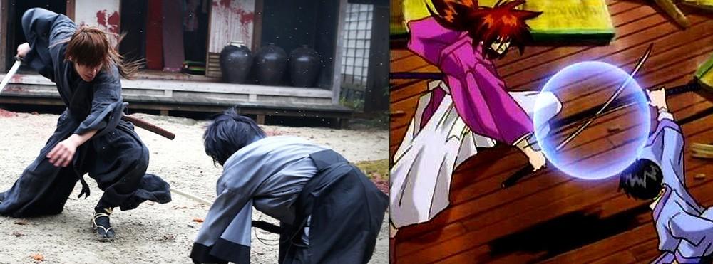 Sojiro Seta versus Kenshin Himura