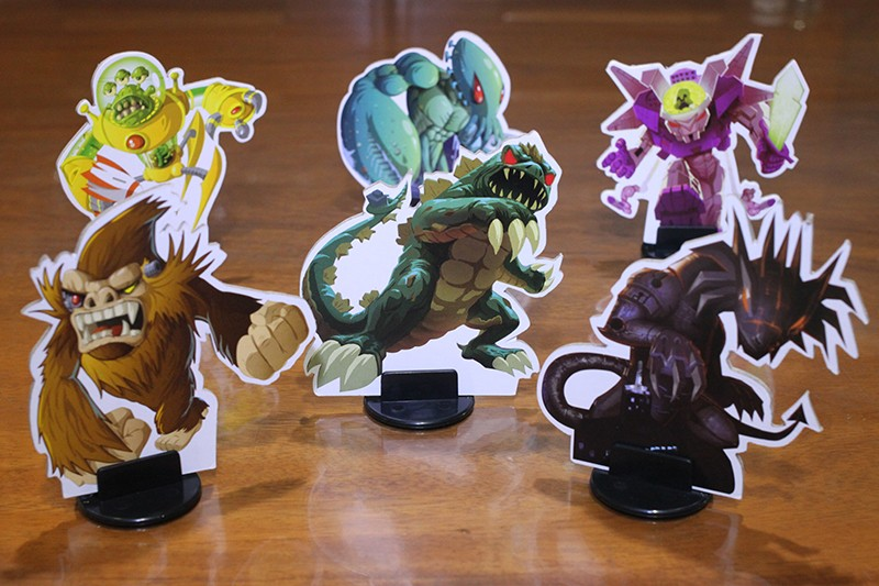 The Gigamonsters/Kaiju of King of Tokyo