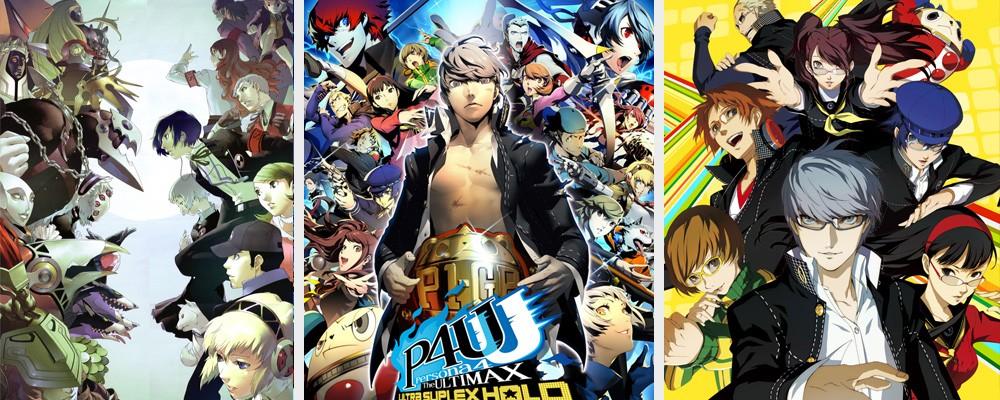 Persona 3 - Ultimax - Persona 4