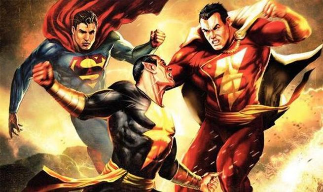 Black Adam throws it down with Shazam and Superman. Just imagine when The Rock squares off against Henry Cavill in a future DC Movie.
