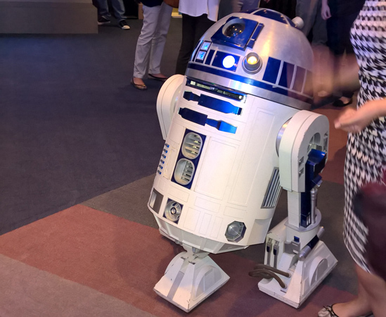 This is definitely the droid that we're looking for!