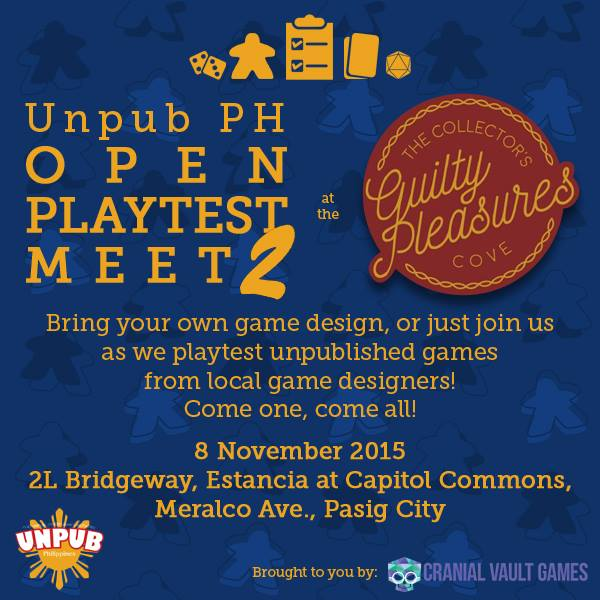 UnPub 2 Event Poster