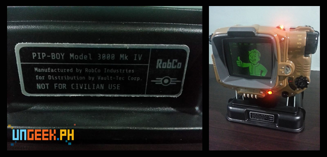 The awesome PIP-BOY! *gasps*