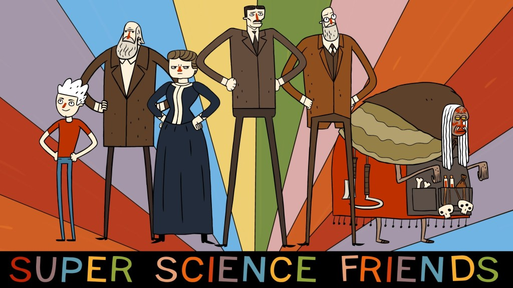 Super Science Friends Poster