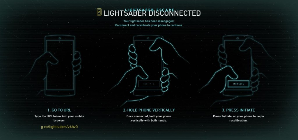 Calibrating your phone into a Lightsaber