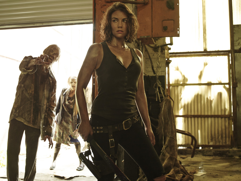 Lauren Cohan as Maggie Greene - The Walking Dead _ Season 5, Gallery - Photo Credit: Frank Ockenfels 3/AMC