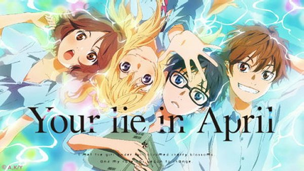 Man Tears Will Be Shed Your Lie In April Official English Dub Release Dates Announced