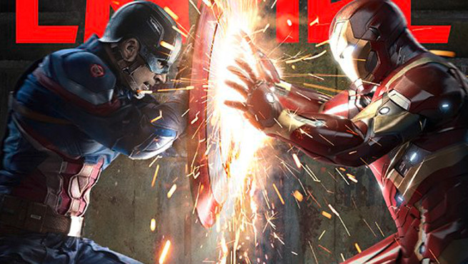 5ca2cba2a187 Empire Magazine pays homage to Marvel s Civil War with new cover  spotlighting Captain America  Civil War!