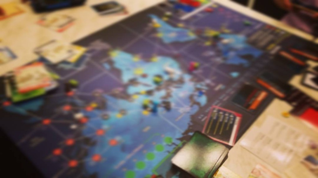 Taking a page from the forbidden parts of the interwebs, we have blurred the entirety of our world map for your (non-spoiler) viewing pleasure. This was our game after July. We have 5 more months to go. Does our win streak continue? We'll keep you posted!