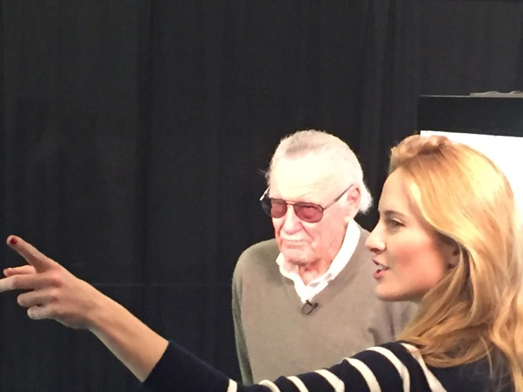 Stan Lee himself, photo credit to Joe Behnke from San Jose, CA