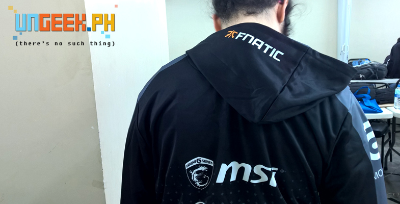 Like this Fnatic hoodie! :D