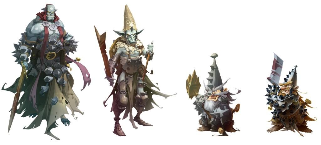 agent orc gob warrior dwarf boss dwarf elite