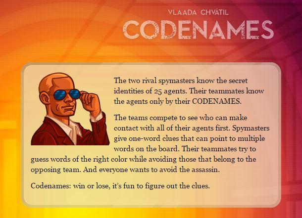 Codenames Description